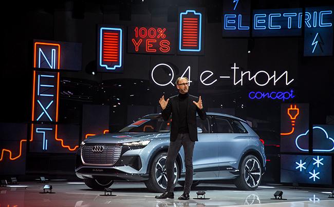 El Audi Q4 e-tron iniciará su producción en serie a finales de 2020