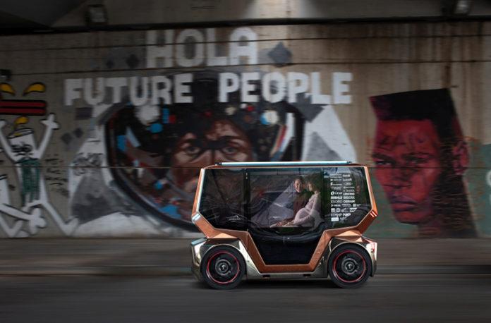 microSNAP está diseñado para llevar mercancías o pasajeros