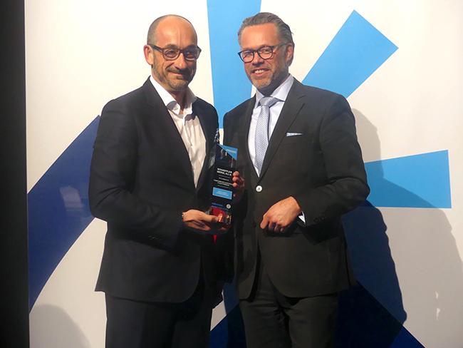 Schaeffler recibe el premio en Motortec