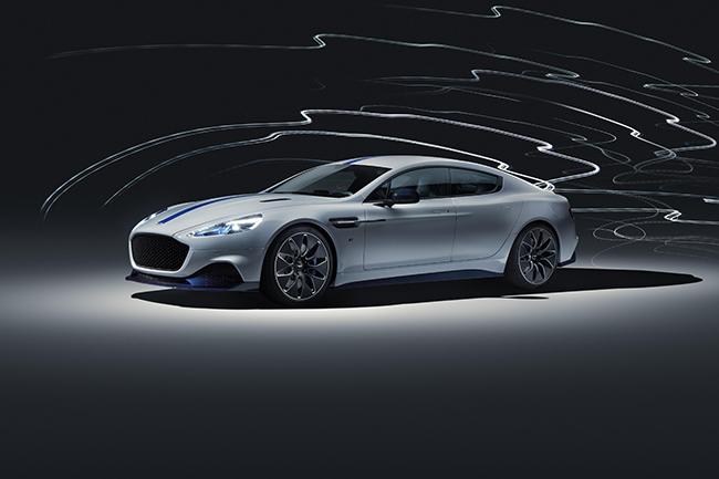 El espectacular diseño del Aston Martin Rapide E es innegable