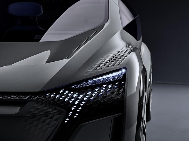 Audi AI:ME, detalle