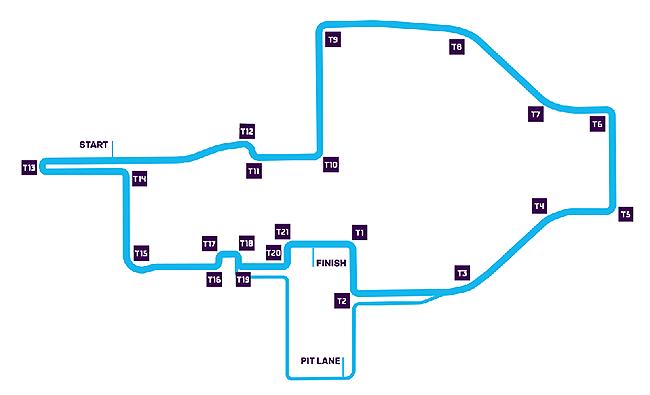 Circuito de Roma. Séptima carrera de la Fórmula E.