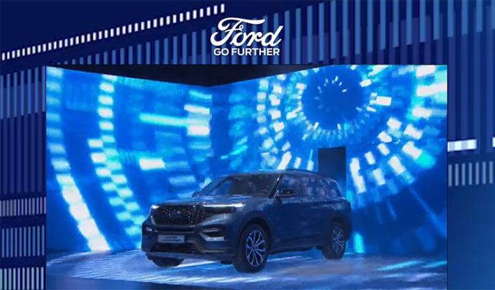 Presentación mundial en Go Further del Ford Explorer PHEV.