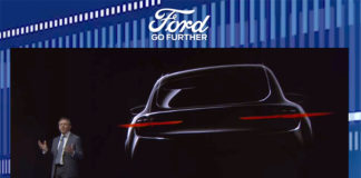 Steve Amstrong, Presidente Ford Europa, durante la presentación de Go Further