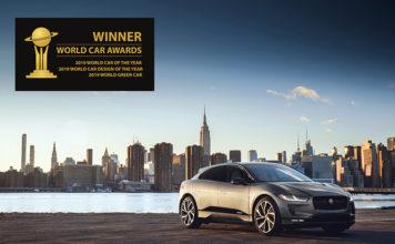 Jaguar I-PACE, Mejor Coche del Año en los 2019 World Car Awards.