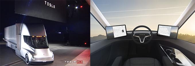 Tesla Semi Truck, la cabeza tractora areodinámica que se amortiza en dos años, según la marca.