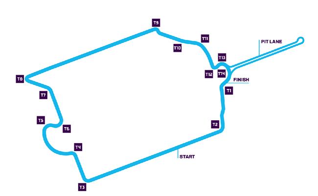 Circuito de París, de 1,9 km.