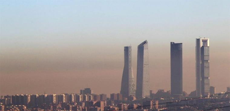 La limitación de los desplazamientos ha eliminado la boina de contaminación de las ciudades