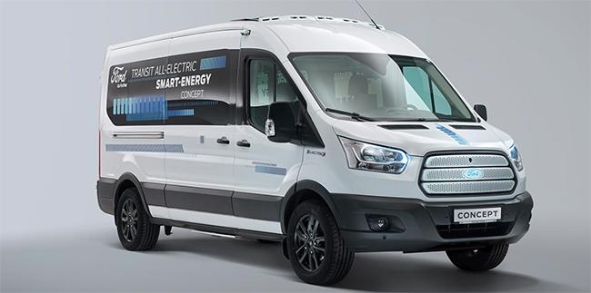 La Transit eléctrica estará en el mercado en 2021