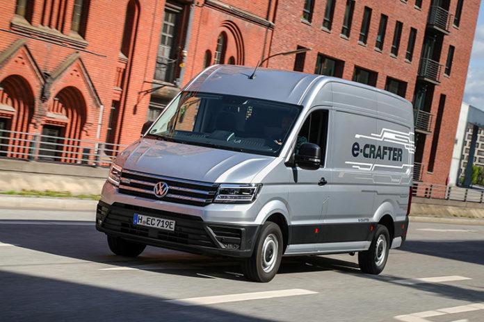 e-Crafter, la furgoneta eléctrica de Volkswagen Vehículos Comerciales