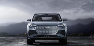 El Q4 e-tron concept es uno de los eléctricos de Audi en el Salón de Barcelona.