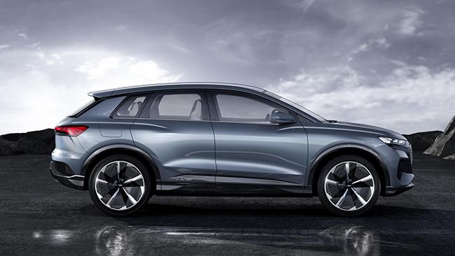 El Audi Q4 e-tron se convertirá en un vehículo de producción a finales de 2020.