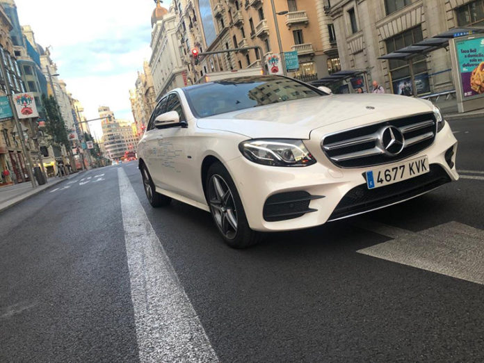 Nuevo Mercedes Clase E 300 de, híbrido enchufable.