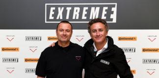 Gildo Pastor, Presidente de VENTURI Automobiles, y Alejandro Agag, CEO de la Formula E tras la unión de VENTURI a la Extreme E.