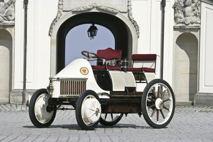 Vehículo eléctrico de Ferdinand Porsche
