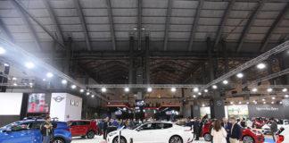 Novedades de Kia y gama actualizada del Niro en el stand de Automobile Barcelona.