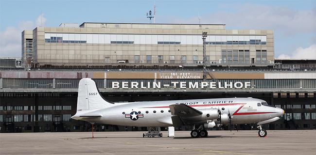 Aeropuerto Tempelhof de Berlín, un lugar histórico y todo un símbolo de libertad para la ciudad.