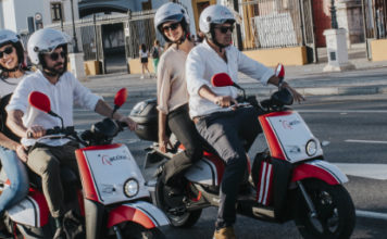 motos eléctricas compartidas de acciona