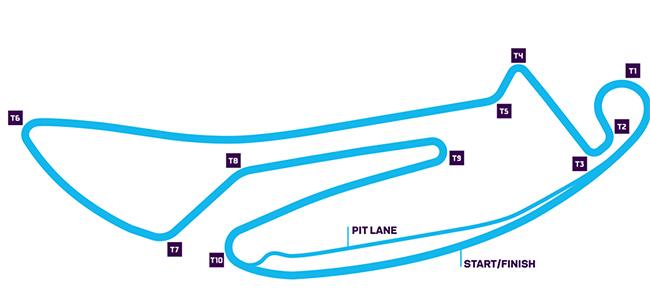 Circuito Tempelhof de 2,375 km.