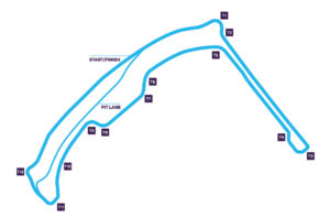 Circuito de Mónaco de la Fórmula E 2018/19.