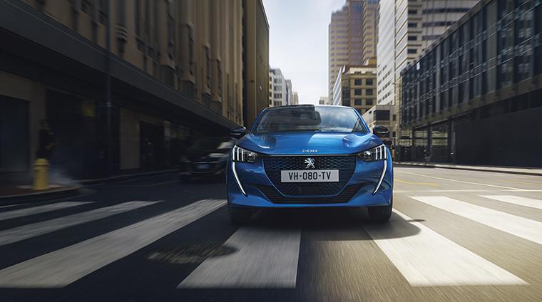 El Grupo PSA estará en VEM 2019 con sus nuevos modelos electrificados. Entre ellos, el Peugeot e-208.