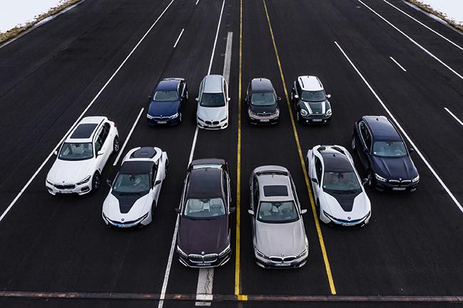 Amplia gama de opciones electrificadas del grupo BMW.
