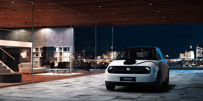 El primer urbano compacto eléctrico de Honda, el e, tiene su propia web de reservas.