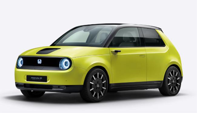 Cinco colores para el urbano compacto eléctrico Honda e.