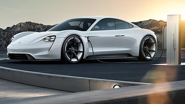 El Mission E es el prototipo en el que se ha basado el desarrollo del Porsche Taycan.