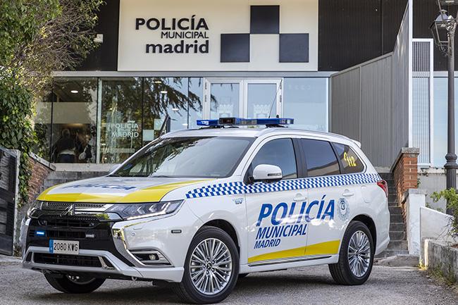 """La Policía Municipal de Madrid contará, para sus labores de vigilancia e intervención, con un vehículo """"Cero Emisiones""""."""