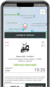 Molo ofrece un servicio de motosharing por suscripción, con motos eléctricas Silence.