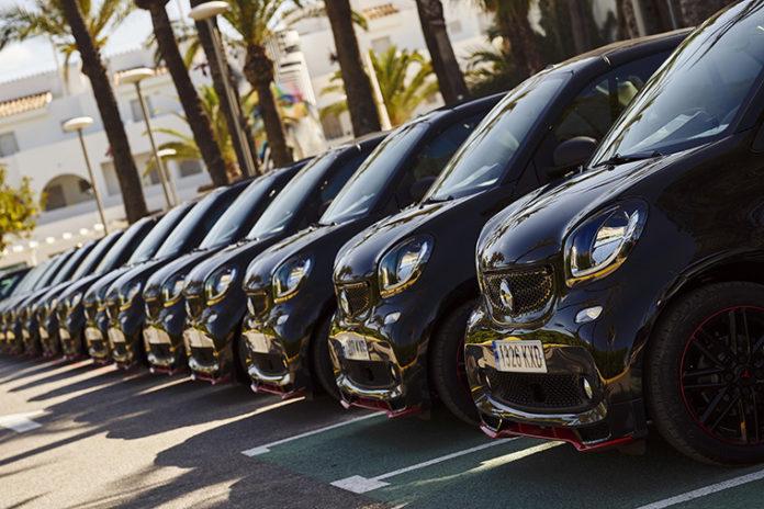 Edición limitada del smart Ushuaïa 2019, fruto de una colaboración entre Ibiza Ushuaïa Beach Hotel y Mercedes-Benz.