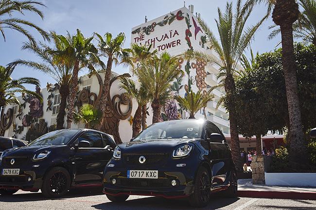La edición limitada del smart Ushuaïa contará con 200 unidades, sólo para los mercados español e italiano.