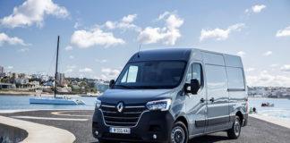 Nuevo Renault Master Z.E., la versión eléctrico del renovado modelo.