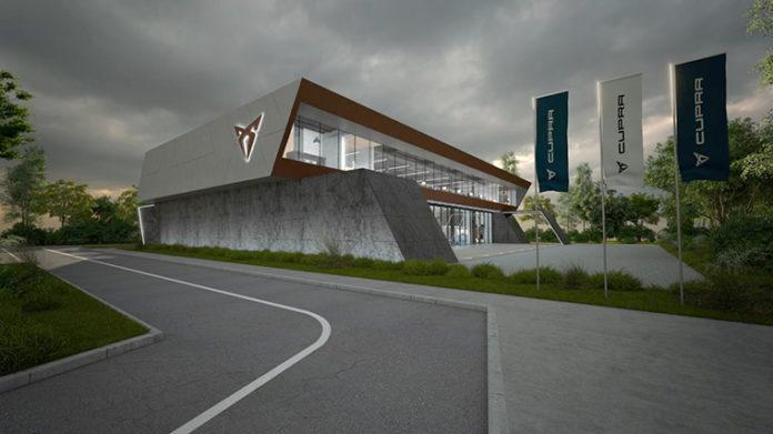 Nueva sede de CUPRA.