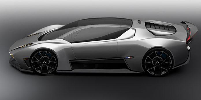 Supercar eléctrico. Technicon Design. SEGULA Technologies.