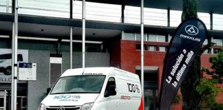 La Maxus EV80 ya se comercializa en España.