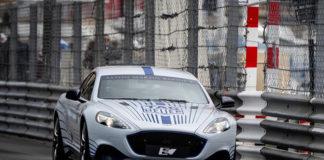 EL público se quedó impresionado en Mónaco ante las prestaciones dinámicas del Aston Martin Rapide E.