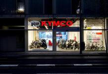 KYMCO Madrid es un showroom que está en la calle Príncipe de Vergara.