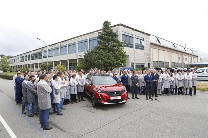 La planta de Vigo del Grupo PSA producirá el nuevo Peugeot 2008.