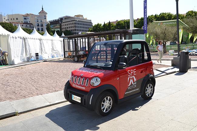 City Spirit, el pequeño urbano eléctrico de SPE Motor.