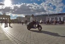 eRetro Star de Nova Motors, la moto eléctrica que vende Aldi.