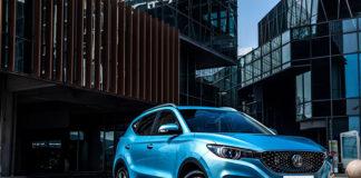 El nuevo MG ZS EV estará en el mercado en septiembre de este año.