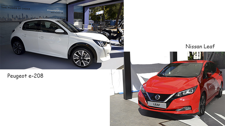 Peugeot. Nissan