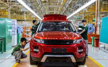Planta de Chery Jaguar Land Rover Automotive Company. Changsu, al norte de Shanghái.