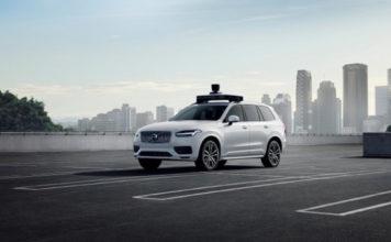 Volvo Cars y Uber han desarrollado conjuntamente un vehículo autónomo.