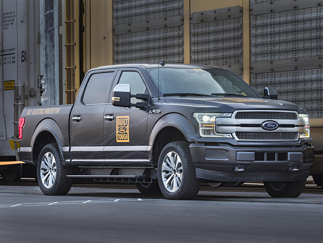 Pick-up eléctrica Ford F-150.