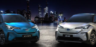 Toyota presentó en el Salón del Automóvil de Shanghái los VE que planea lanzar en China: el C-HR y el IZOA.