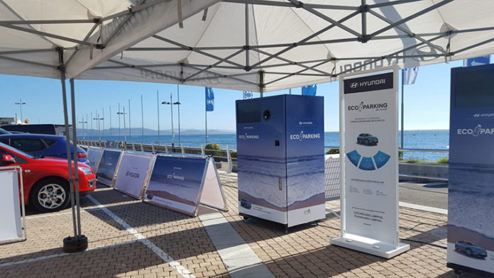 El éxito del Eco Parking de Hyundai en Sanxenxo, durante el verano del año pasado, ha ayudado a lanzar nuevamente la iniciativa.