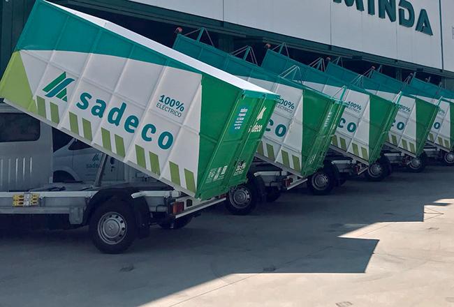 Los vehículos Maxus EV80 son los primeros de estas características incorporados a una flota de gestión de residuos en España.
